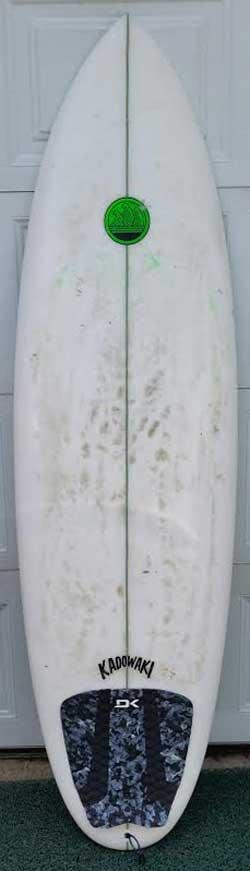 Used Kadowaki Shortboard - 6'