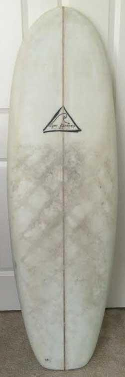 Used Ryan Kearney Shortboard - 4'10