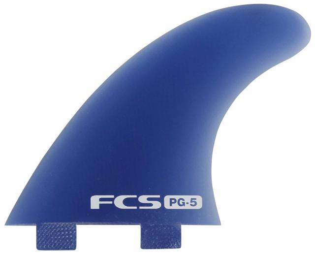 FCS PG-5 Performance Glass Tri Fin Set - Blue
