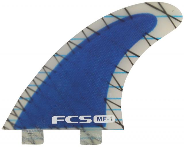 FCS MF-1 Performance Core Surfboard Tri Fin Set - Blue