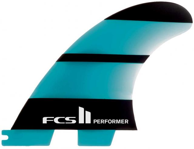 FCS II Performer Neo Glass Tri Fin Set - Blue