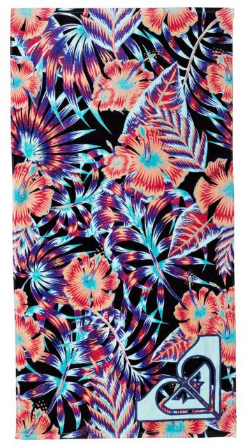 Roxy Pretty Simple Towel - Anthracite Tropical Dream