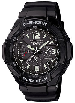 G-Shock Aviation Series Solar Atomic Watch - Black