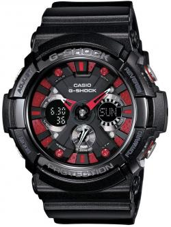 G-Shock GA-200 Watch - Gloss Black