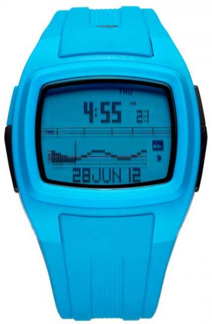 Quiksilver Moondak Tide Watch - Cyan
