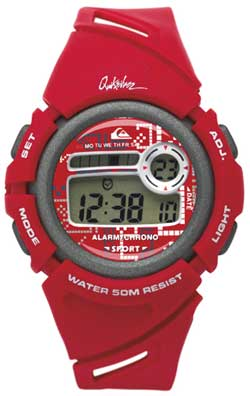 Quiksilver Windy Youth Watch - Red