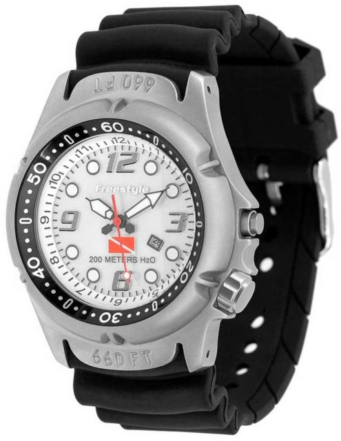 Freestyle Hammerhead Watch - White