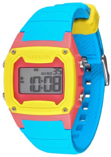 Freestyle Shark Classic Watch - Cyan / Pink / Yellow