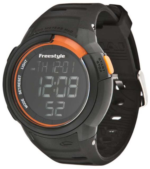 Freestyle Mariner Watch - Black / Orange / Negative