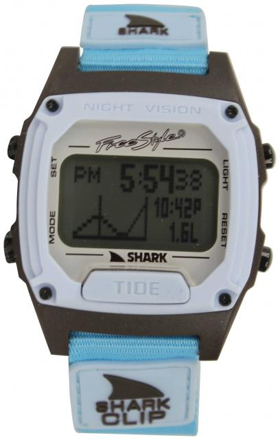 Freestyle Shark Clip Watch - Light Blue / Black