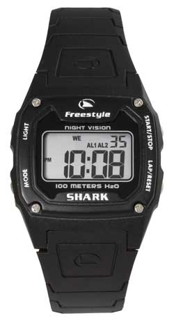 Freestyle Shark Classic PU Watch - Black