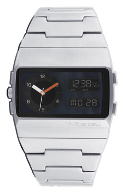 040000a7f Vestal Monte Carlo Watch - Silver / Silver / Black Pearl For Sale at  Surfboards.com (257012)