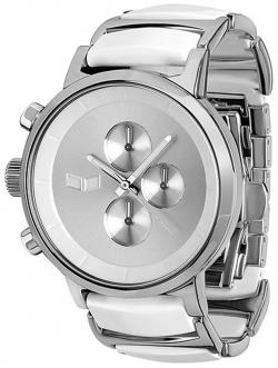 Vestal Metronome Watch - Silver / White