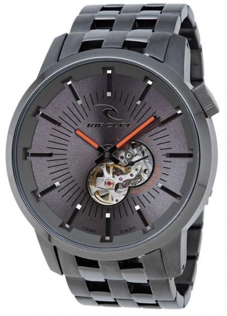 Rip Curl Detroit Automatic Watch - Classic Gunmetal