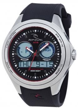 Rip Curl Oceanside Tide Watch - Black / White