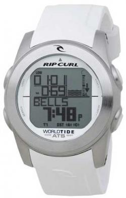 Rip Curl Pipeline World Tide Watch - White