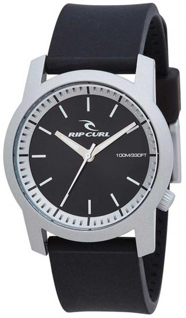 Rip Curl Cambridge ABS Silicone Watch - Silver
