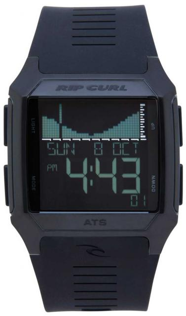 Rip Curl Rifles SS Tide Watch - Midnight