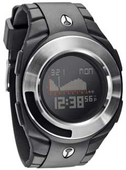 Nixon Outsider Tide Watch - Black