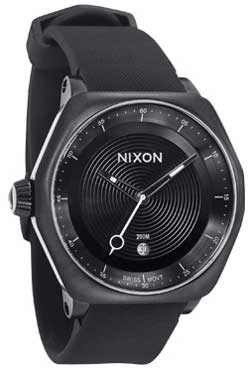 Nixon Decision Tide Watch - All Black