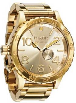 Nixon 51-30 Tide Watch - All Gold