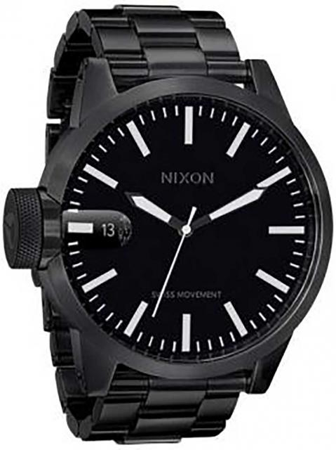 Nixon Chronicle SS Watch - All Black