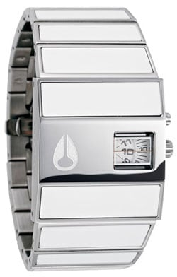 Nixon Rotolog Watch - White