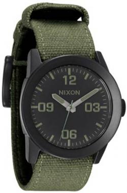 Nixon Private Watch - Matte Black / Surplus