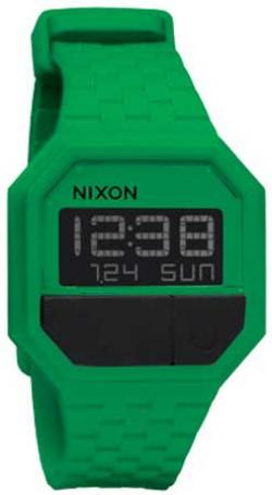 Nixon Rubber Re-Run Watch - Green