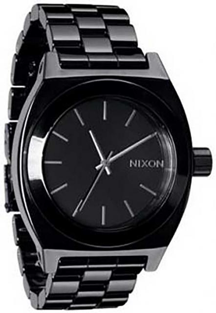 Nixon Ceramic Time Teller Watch - Black