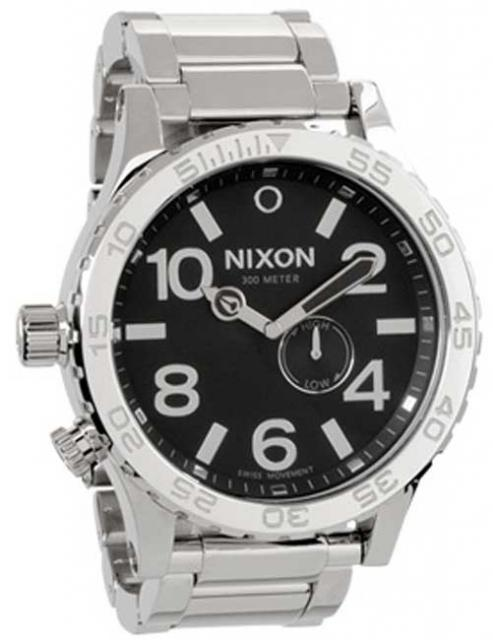 Nixon 51-30 Tide Watch - High Polish / Black