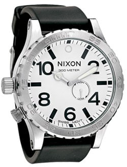 Nixon 51-30 PU Tide Watch - White
