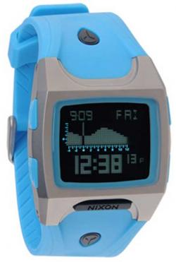 Nixon Lodown TI Tide Watch - Sky Blue / Black