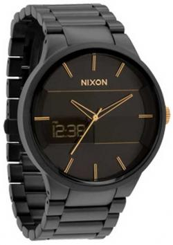 Nixon Spencer Watch - Matte Black / Gold