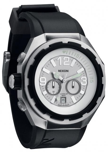 Nixon Steelcat Watch - White