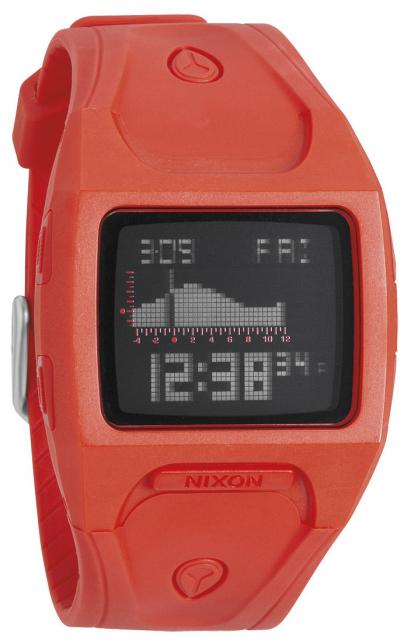 Nixon Lodown Tide Watch - Neon Orange