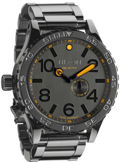 Nixon 51-30 Tide Watch - Steel Grey