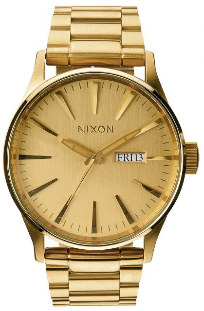 Nixon Sentry SS Watch - All Gold