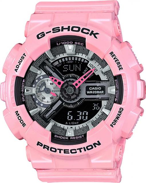 G-Shock S-Series Watch - Pink / Black