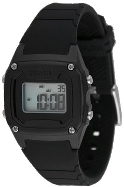 Freestyle Shark Classic Mid PU Watch - Black / Black