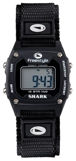 Freestyle Shark Classic Mid Nylon Watch - Black