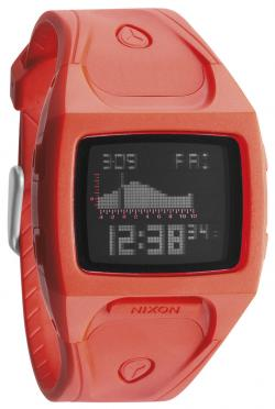 Nixon Small Lodown Tide Watch - Neon Orange