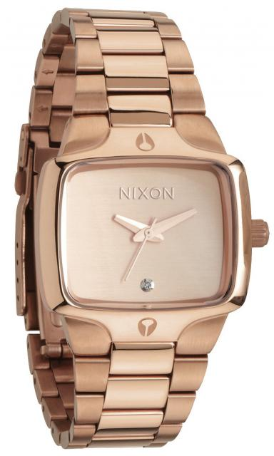 Nixon Small Player Watch - All Rose Gold