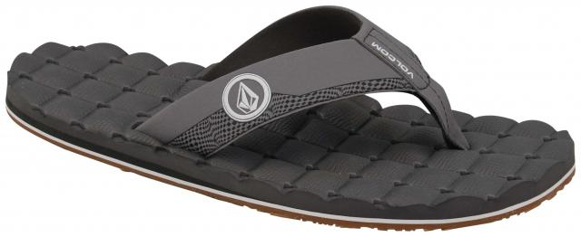 Volcom Recliner Sandal - Light Grey