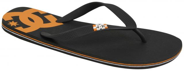 DC Spray Sandal - Black / Orange