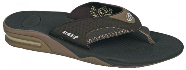 Reef Fanning Sandal - Brown Lux