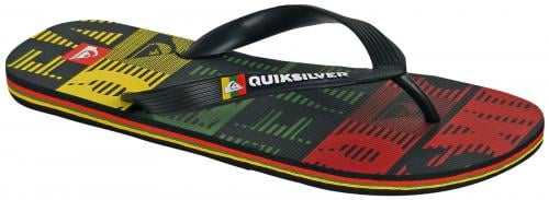 Quiksilver Molokai Art Series Sandal - Green / Yellow