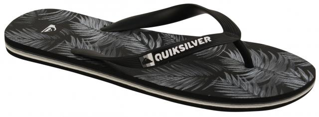 Quiksilver Molokai Art Series Sandal - Black / Grey / White