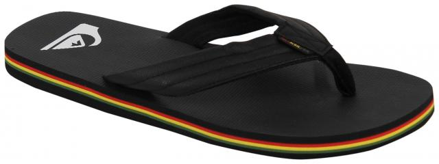 Quiksilver Molokai Wide TX Sandal - Black / Red / Green
