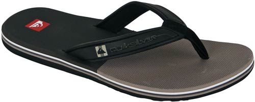 Quiksilver Eclipsed Sandal - Grey / Black